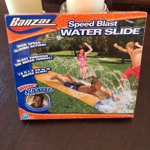 Speed Blast Water Slide